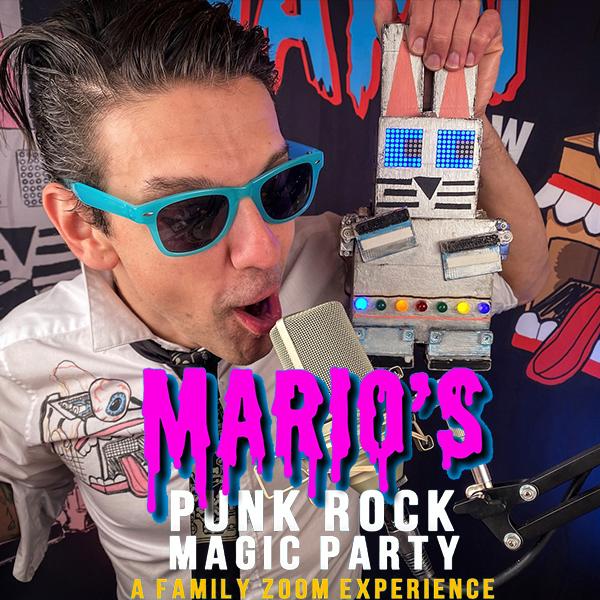 Mario's Punk Rock Magic Party image